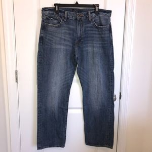 Lucky Brand 363 Vintage Straight Jeans.